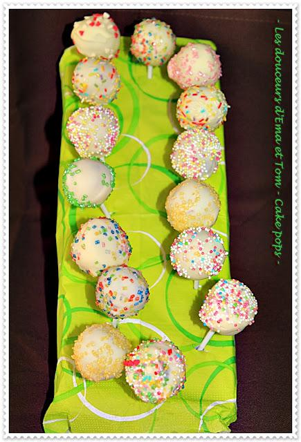 Baton Sucettes Cakes Pops