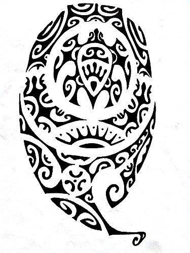 tatouage polynesien symbole tortue d couvrir. Black Bedroom Furniture Sets. Home Design Ideas