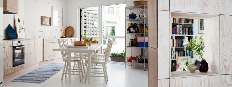 Visites privées: Just another great scandinavian home!