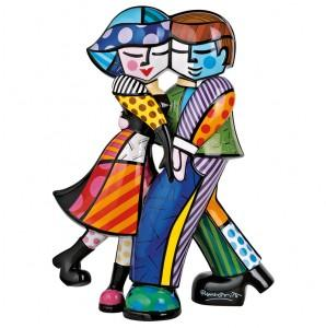 Romero Britto, l'artiste pop art au « grand cœur rouge ».