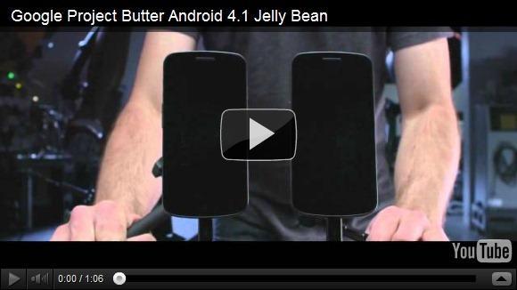 Jelly Bean vs ICE Cream Sandwich, un duel filmé par une caméra ultra-sophistiquée