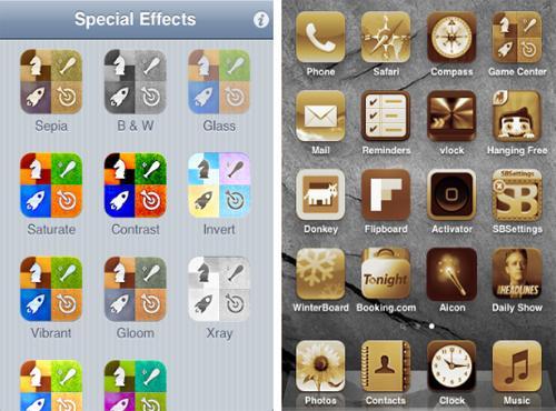 Aicon pour changer l'apparence de vos icônes sur iPhone...