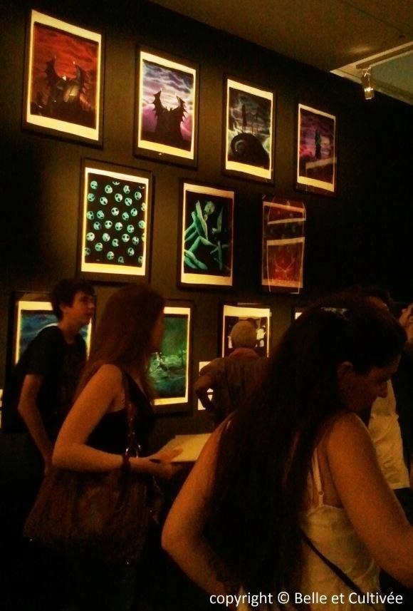 Photographie exposition Tim Burton
