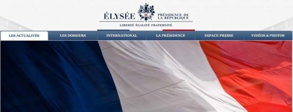 Le site de l'Elysée victime de cyber-attaques