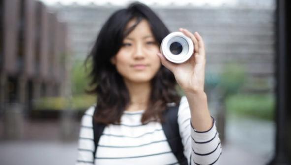 Iris : un magnifique concept d'appareil photo