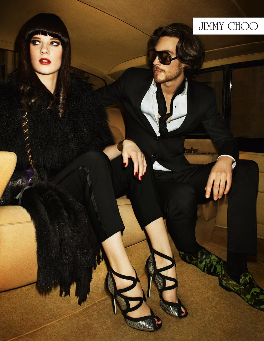 On adore : la prochaine campagne Jimmy Choo par Terry Richardson !