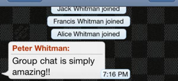 WhatsApp Messenger nous offre une mise à jour