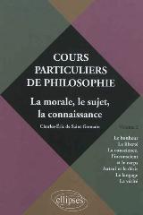 Les cours particuliers de philosophie de Charles-Éric de saint-Germain