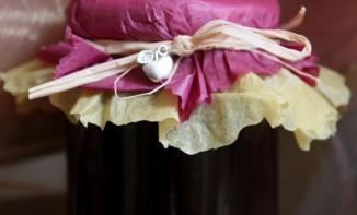 Confiture pomme cassis et vanille