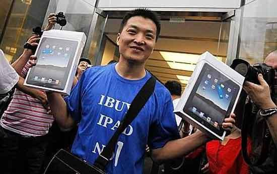 Apple va finalement lancer l'iPad en Chine