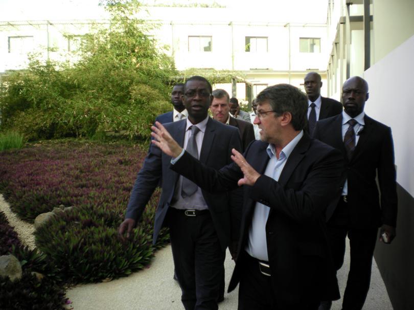 Visite ministérielle à l'hôtel Onomo Dakar Airport