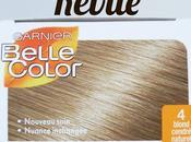 ombré hair naturel moins euros: présentation revue Belle Color Garnier