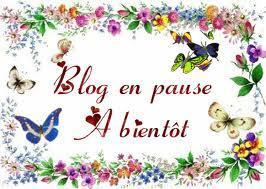 BLOG EN PAUSE POUR RAISON DE VACANCES...