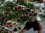 Bangkok- Flânerie marché fleurs