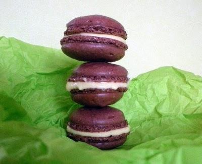 Macarons Chocolat/Passion