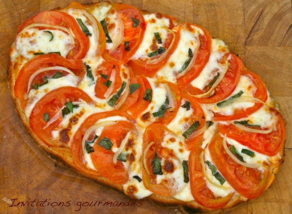 Bruschetta tomate mozarella paperblog for Entree simple rapide