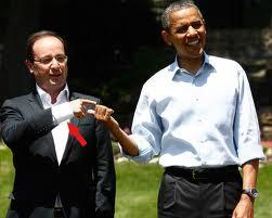 Obama et Hollande