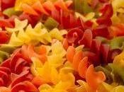 Torsades colorees ptits legumes poulet