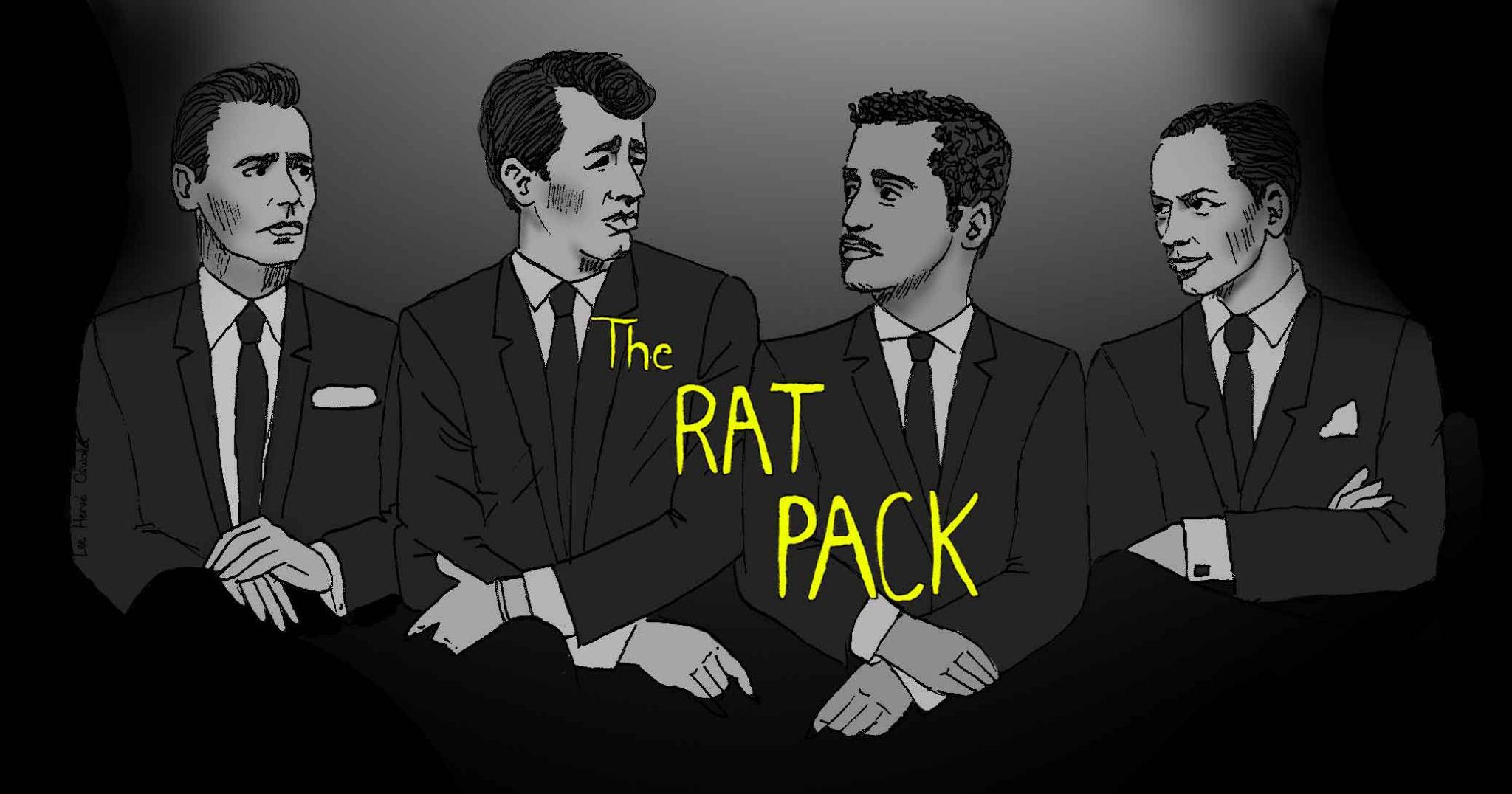 You Look Like A Goddamn Rat Pack