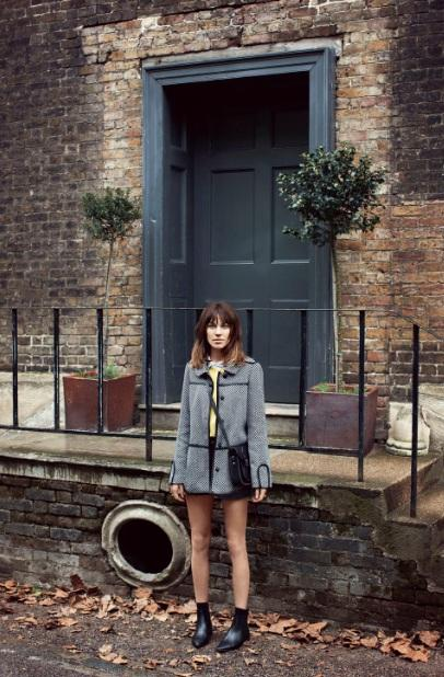 Alexa Chung & Vero Moda : automne hiver 2012-2013