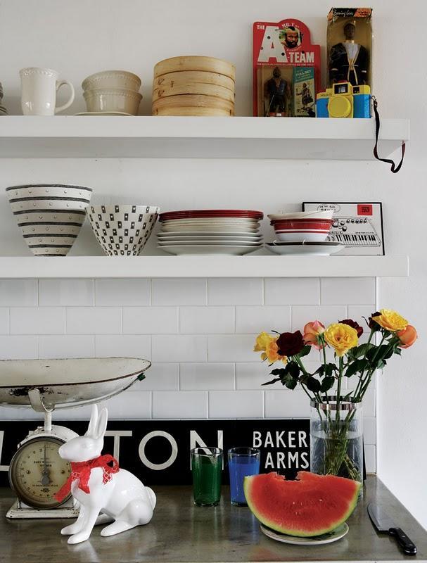 visite d co un petit appartement vintage paperblog. Black Bedroom Furniture Sets. Home Design Ideas