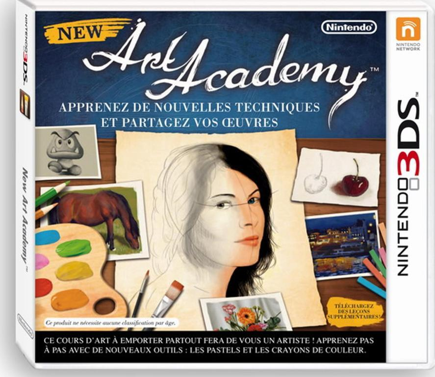New Art Academy sur Nintendo 3DS {coming soon}