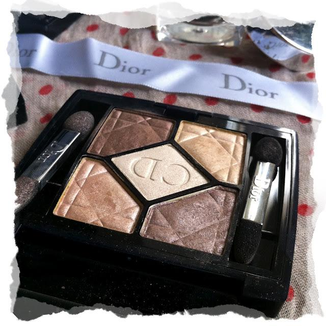 Dior Palette 5 couleurs irridescent - 589 Goldfever