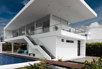 Une maison minimaliste girardot paperblog for Ma maison minimaliste