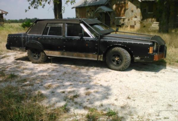 vendre voiture de survivant de lapocalypse zombie