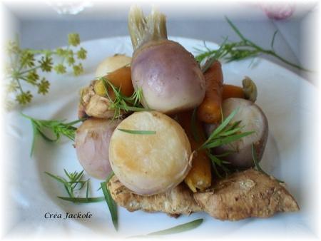fricasée de legumes nouveaux