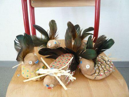 brico kids oiseaux en terre paperblog. Black Bedroom Furniture Sets. Home Design Ideas