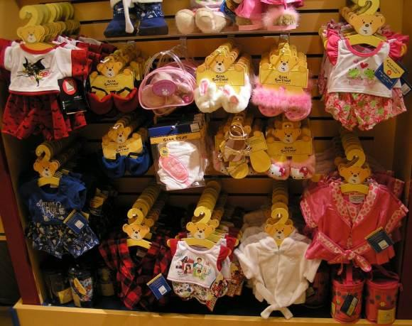Build a bear Workshop vêtements et accessoires