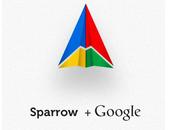 Sparrow racheté Google