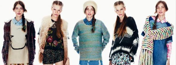 Les tendances de l'automne-hiver chez Top Shop