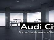 Audi City, showroom digital Londres