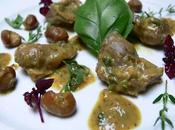 Gésiers poulet herbes Chicken gizzards with herbs