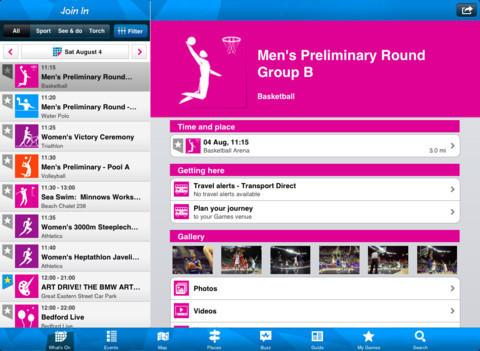 Londres 2012: L'Application Officielle sur votre iPhone ou iPad...