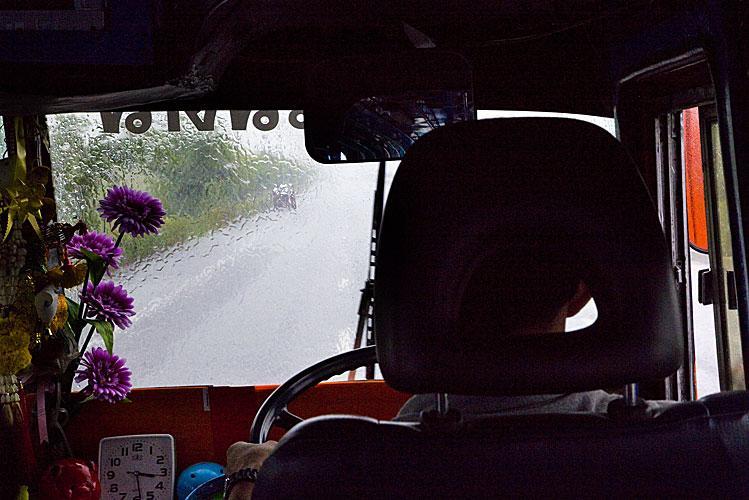 Pluies Thaïlande