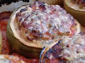 Courgettes farcies cochon/soja