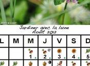 Jardiner avec Lune mois Août 2012