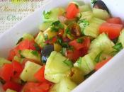 Salade concombre Jamie Oliver