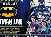 Batman Live Bercy spectacle comique malgré