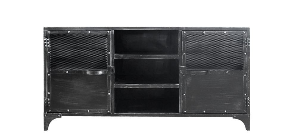 La d coration loft d couvrir for Commode metallique industrielle