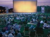 Cinéma plein dans Parc Villette