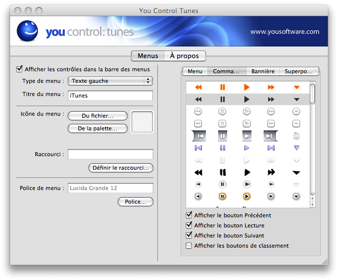 99345screen capture 4 Personnaliser Leopard : iTunes