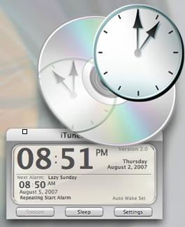 635087itunes alarm app Personnaliser Leopard : iTunes