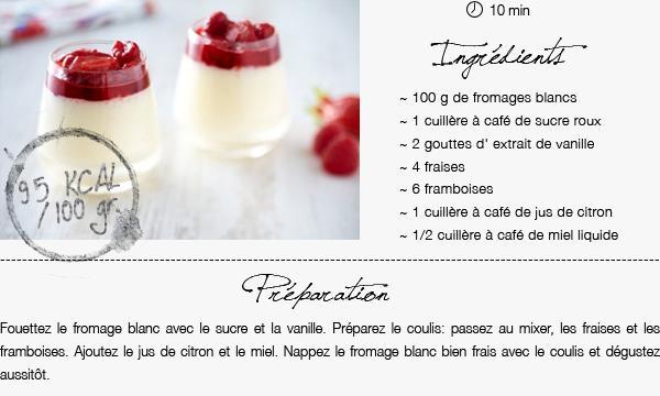 Faisons-nous plaisir avec ces desserts à moins de 200 kcal !