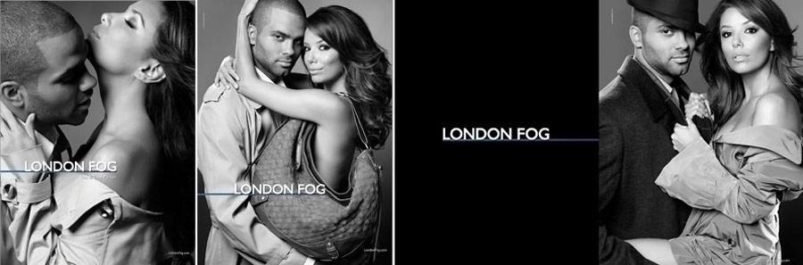 eva longoria tony parker london fog 4 Jeux Olympiques dété 2012 : la mode aussi y a sa place !