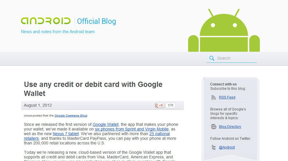 Google lance le blog Android officiel