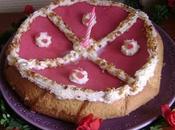 Gâteau d'anniversaire abricots-amandes